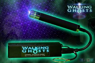 Ultraviolet Uv Laser Grid Projector & USB Power Bank Holder Ghost Paranormal UK